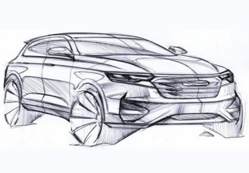 Китайская Zotye представит кроссовер T600 нового поколения 3