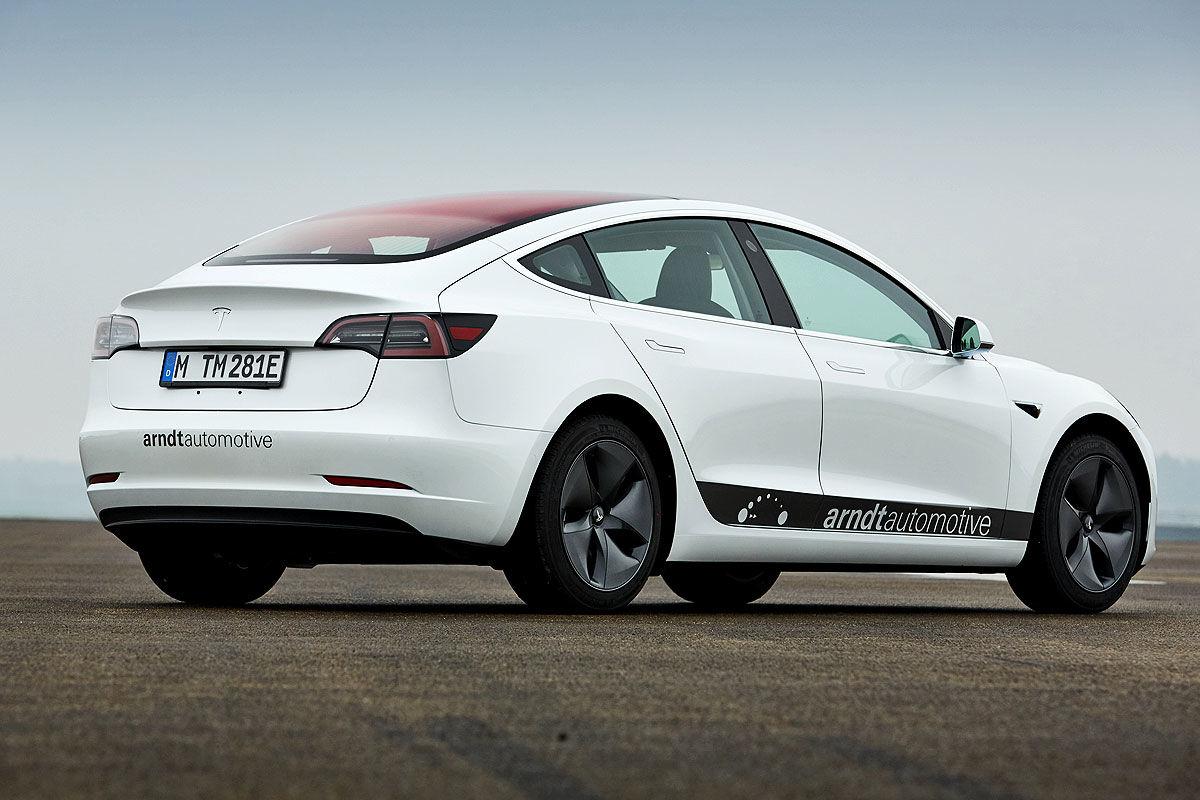 «Заокеанская экзотика»: тест-драйв Tesla Model 3 5