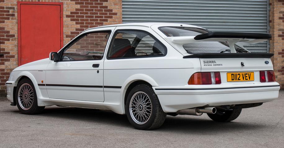 Cамый первый Ford Sierra RS500 Cosworth пустят с молотка 1