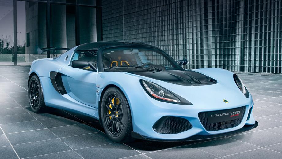 Lotus Exige 410 Sport получил детали от версии 430 Cup 1