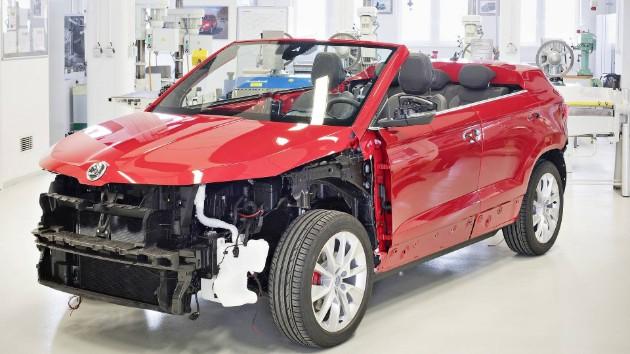 Skoda сделает из кроссовера Karoq кабриолет 2