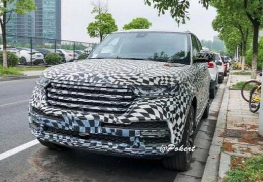 Китайский «клон» Range Rover попался фотошпионам 1