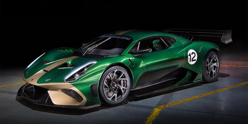 Возрожденный бренд Brabham презентовал 710-сильный суперкар 1