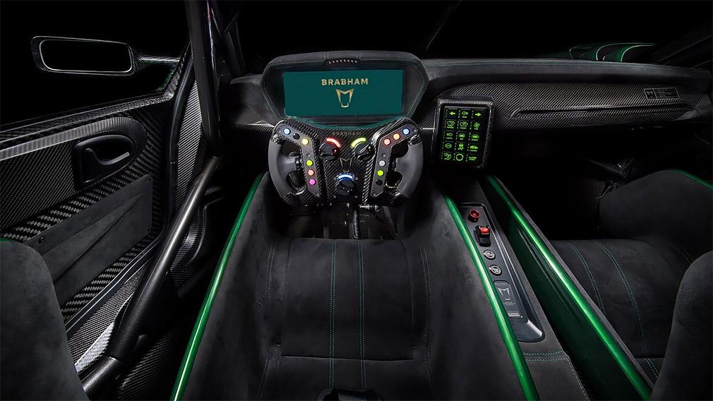 Возрожденный бренд Brabham презентовал 710-сильный суперкар 2