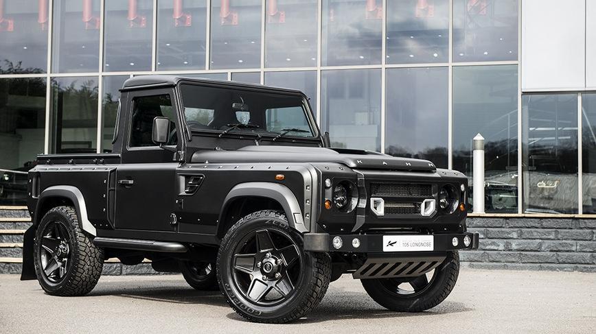 Land Rover Discovery предстал в необычном проявлении 1