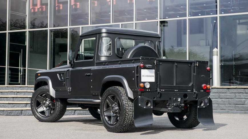 Land Rover Discovery предстал в необычном проявлении 2