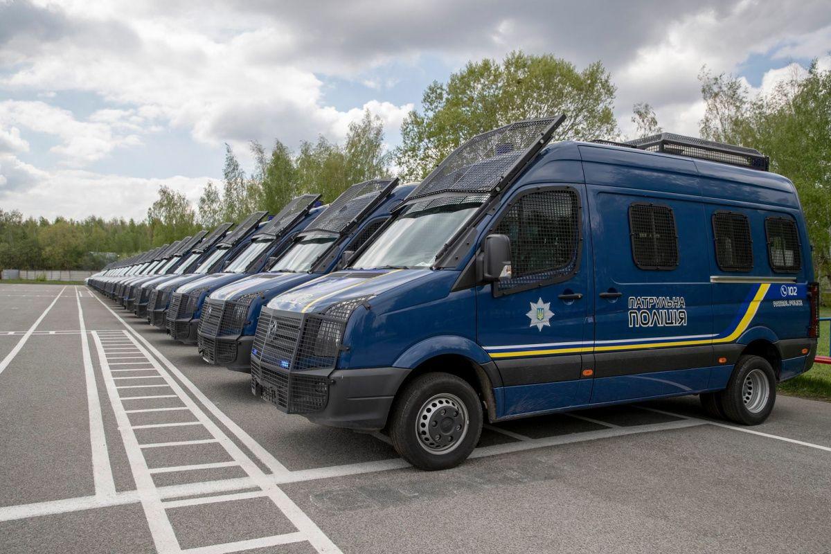 Нацполиция Украины получила новые автомобили 1