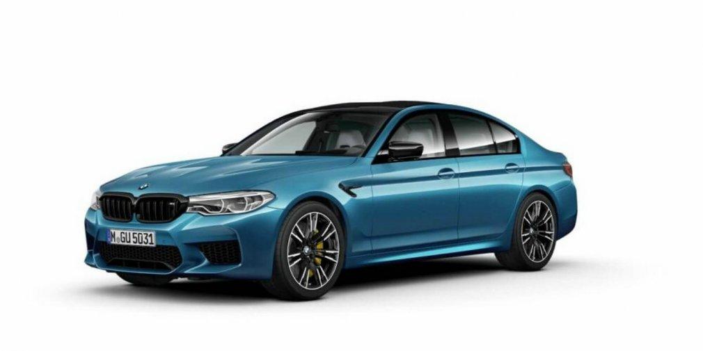 Самый мощный и быстрый BMW M5 показался до премьеры 1