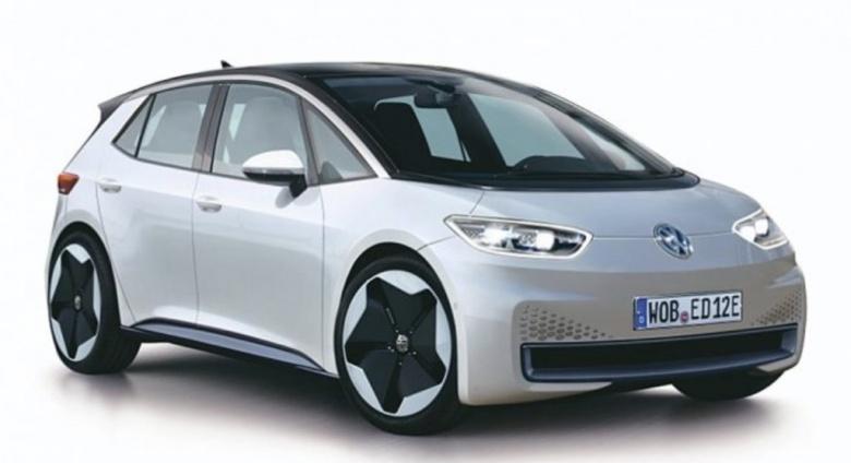 Первое изображение серийного электрокара Volkswagen попало в Сеть 2