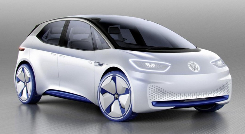 Первое изображение серийного электрокара Volkswagen попало в Сеть 1