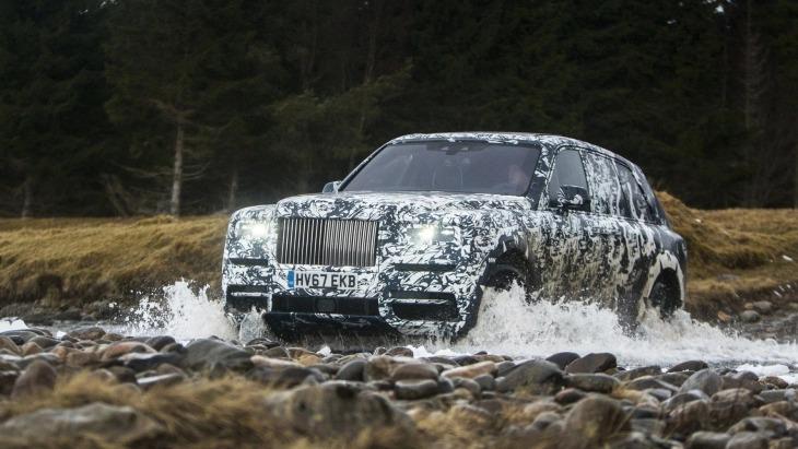 До премьеры внедорожника Rolls-Royce остались считанные дни 1