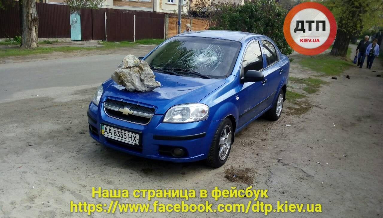 В Украине «героя парковки» наказали «метеоритом» 1