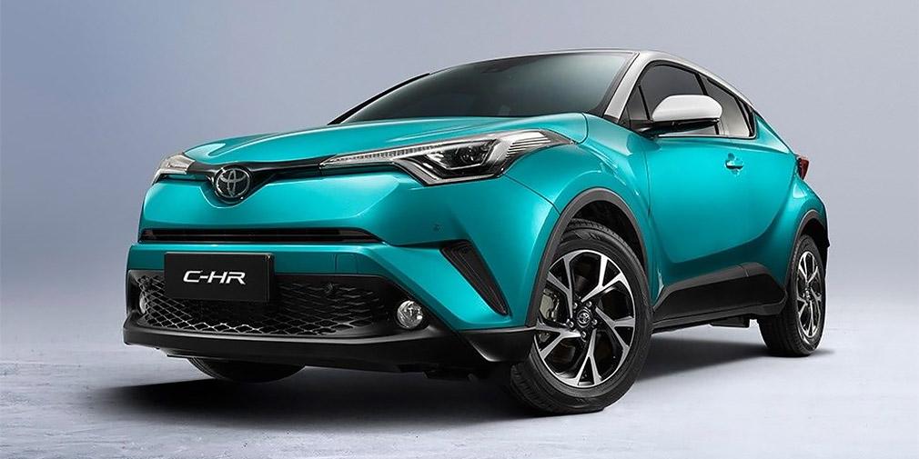 Кроссовер Toyota C-HR превратится в электромобиль 1