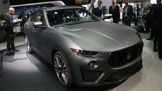 Сержио Маркионне рассказал о причинах неудач кроссовера Maserati Levante 1