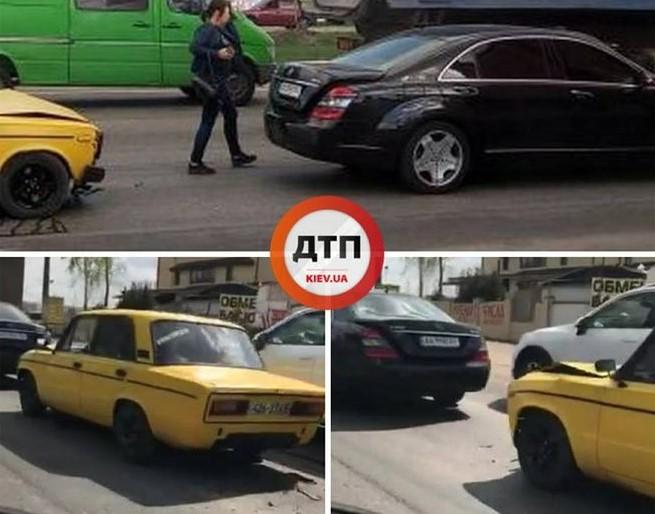 В Киеве произошло ДТП из «классического анекдота» 1