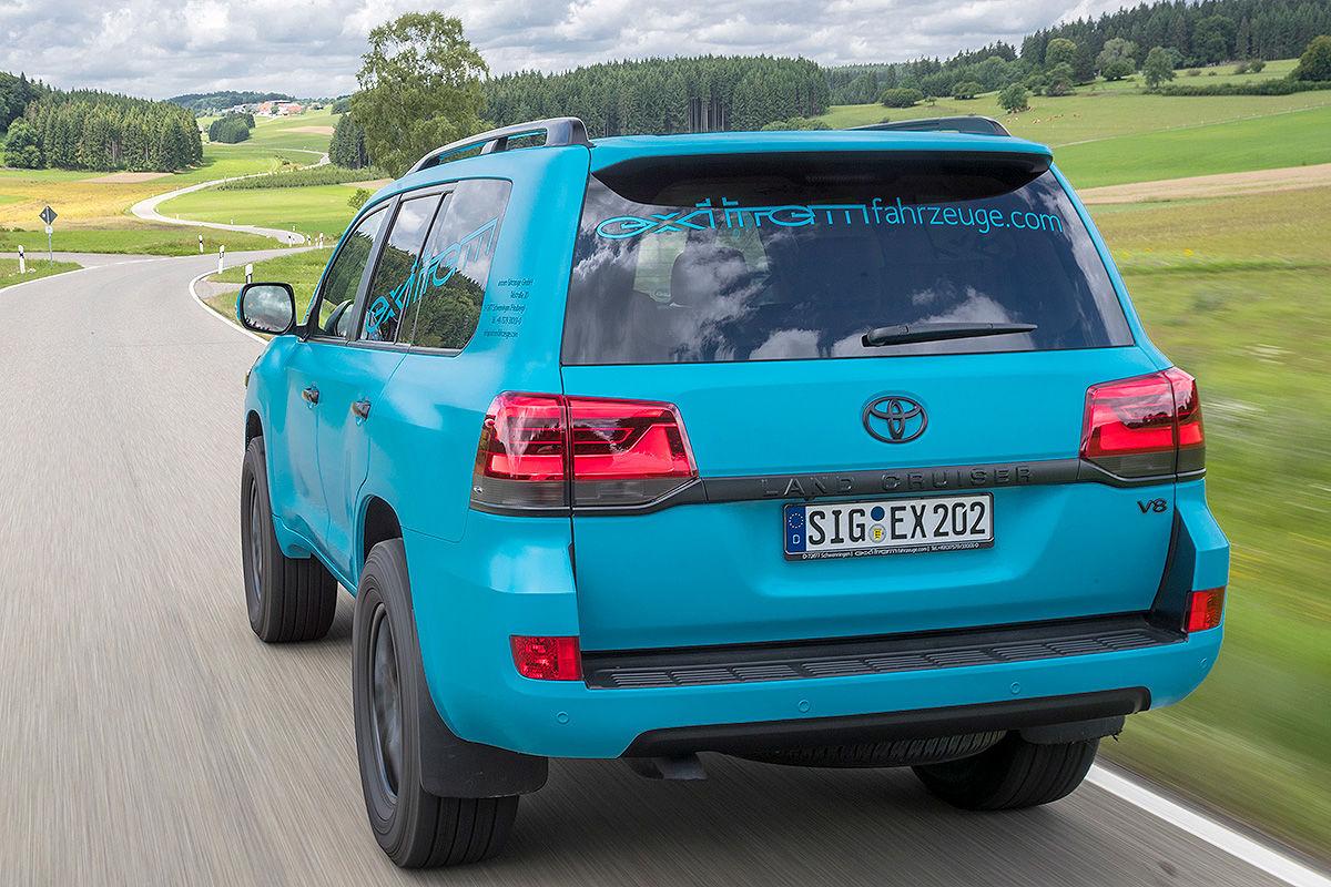 «Комфорт и мощь»: тест-драйв Toyota Land Cruiser с двигателем V8 2