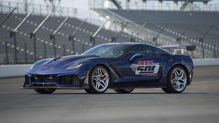 Chevrolet Corvette ZR1 стал автомобилем безопасности гонки Indy 500 1