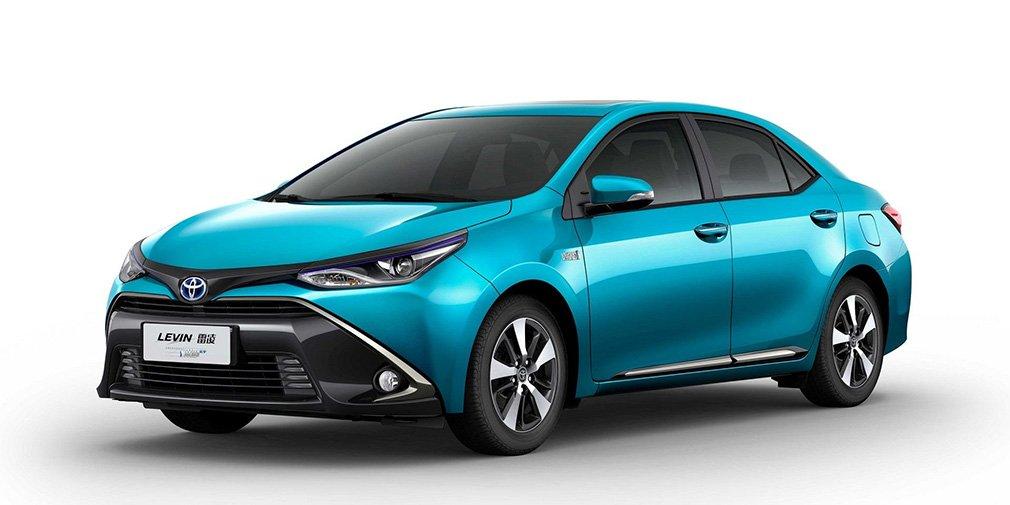 Седан Toyota Corolla стал гибридом 1