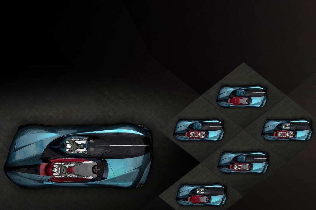 DS представил ассиметричный суперкар будущего 3