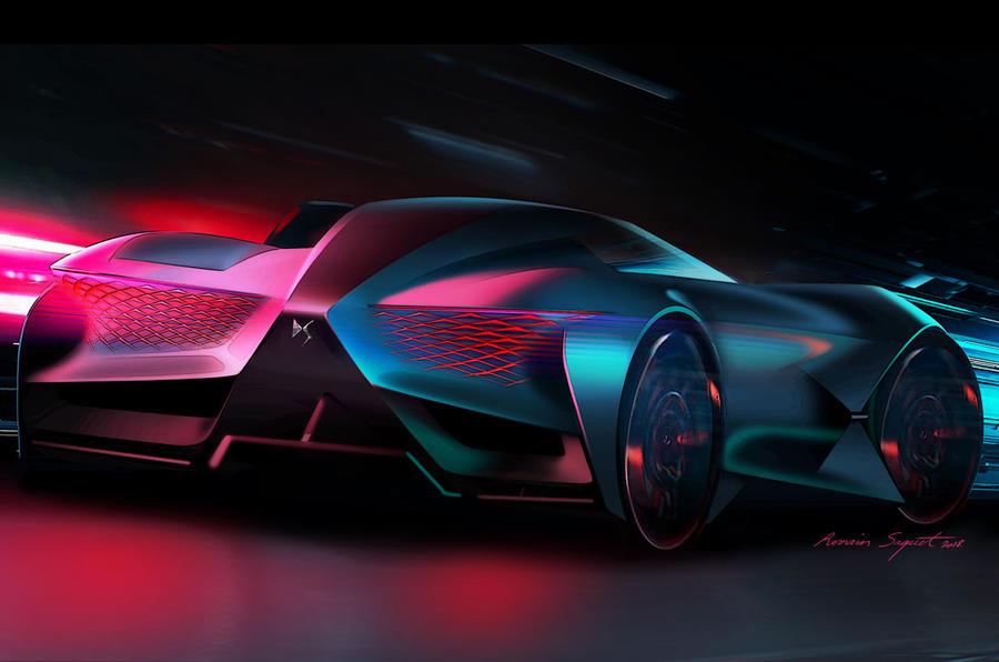 DS представил ассиметричный суперкар будущего 2