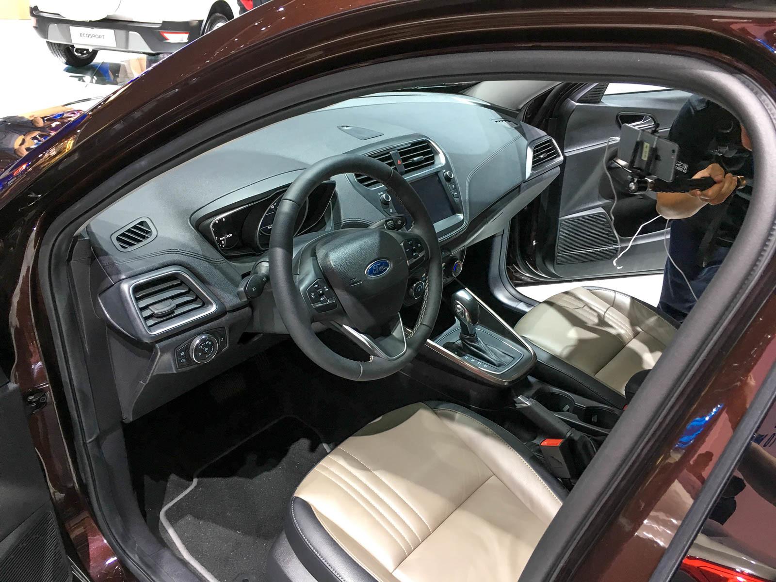 В Китае дебютировал новый Ford Escort 2