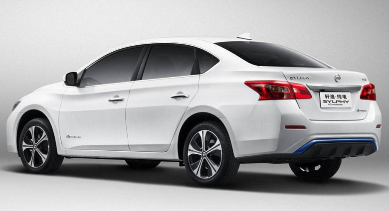 Nissan Leaf стал седаном 2