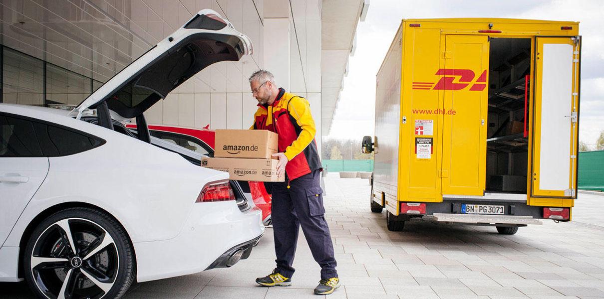 Amazon будет доставлять товары в припаркованные автомобили 2