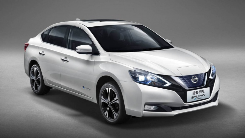 Nissan Leaf стал седаном 1