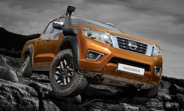 Nissan Navarra получил спецверсию с увеличенным клиренсом 2