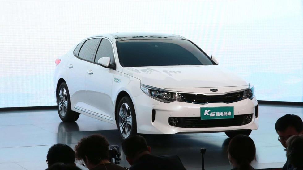 Kia в Пекине представила свои новинки 2