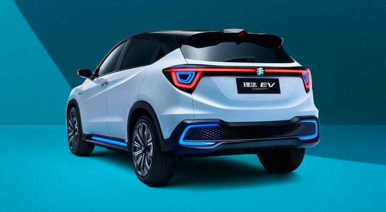 Honda презентовала концептуальный кроссовер Everus EV 2