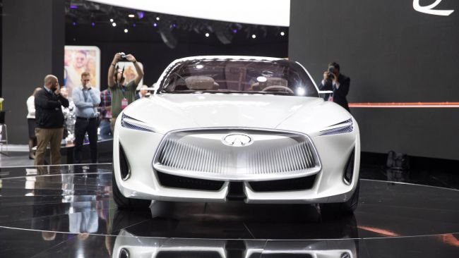 Infiniti представила новую платформу электромобилей Q Inspiration 1