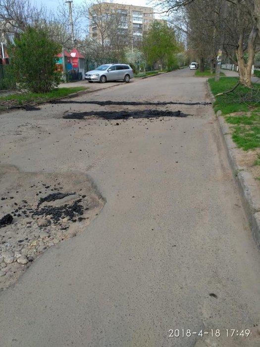 «Технология» ямочного ремонта шокировала украинцев 1