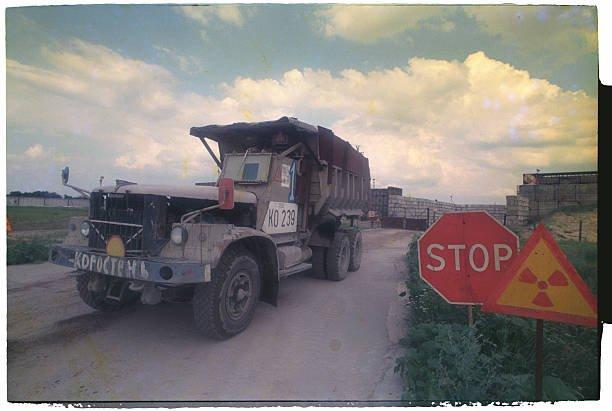 В Сети показали редкий «чернобыльский» КрАЗ 1