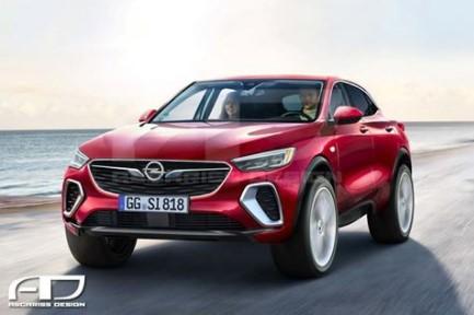 Opel «дразнит» рендерами нового флагманского кроссовера 1