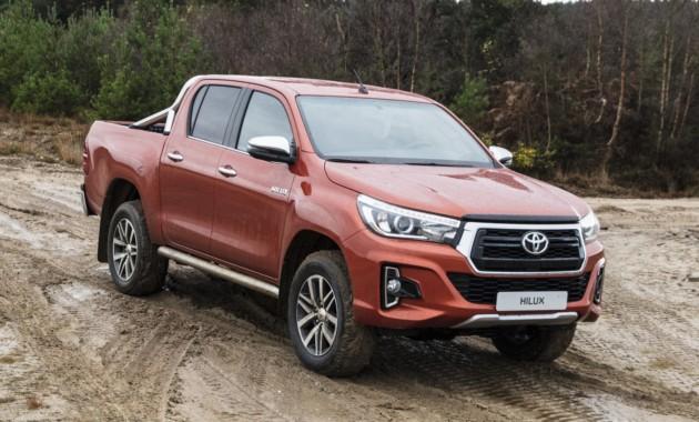 Toyota обновила Hilux для Европы 1