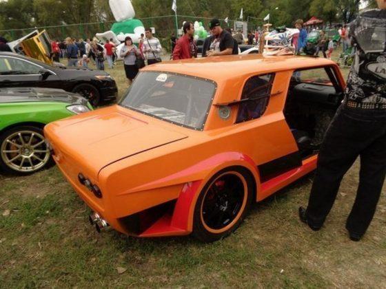 Из «ВАЗовской копейки» сделали Lamborghinni Aventador 3