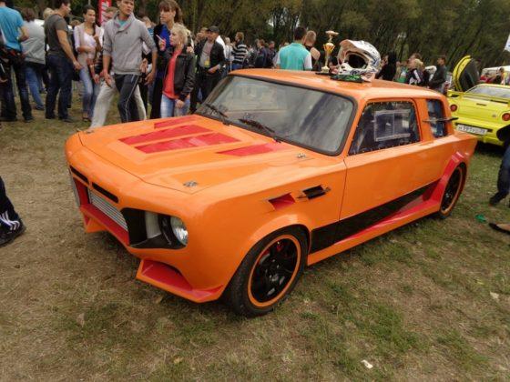 Из «ВАЗовской копейки» сделали Lamborghinni Aventador 2