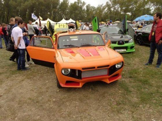 Из «ВАЗовской копейки» сделали Lamborghinni Aventador 1