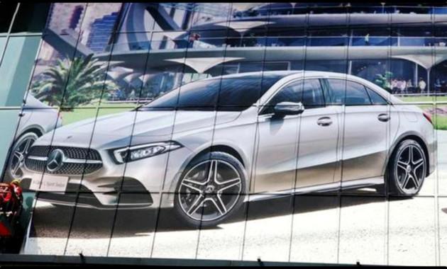 Внешность Mercedes-Benz A-Class рассекретили перед премьерой 1
