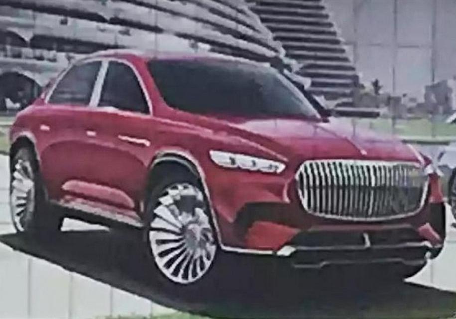 Как будет выглядеть роскошный внедорожник Mercedes-Maybach 1