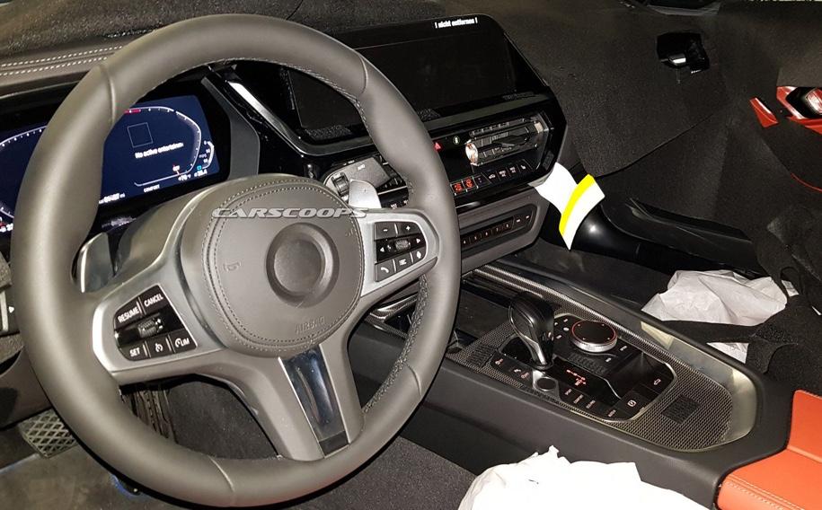 Фотошпионы раскрыли интерьер нового BMW Z4 1