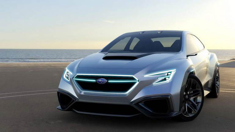 Subaru презентует презентует новую модель Evoltis 1