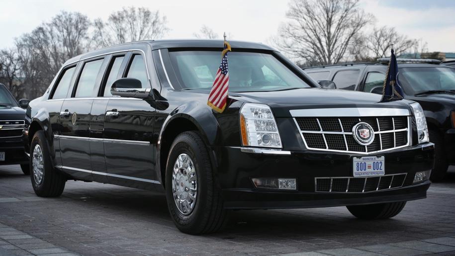 У Дональда Трампа новый лимузин 1