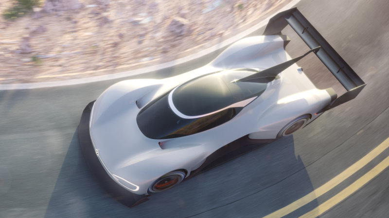 Volkswagen представит первый в своей истории электрический спорткар 1