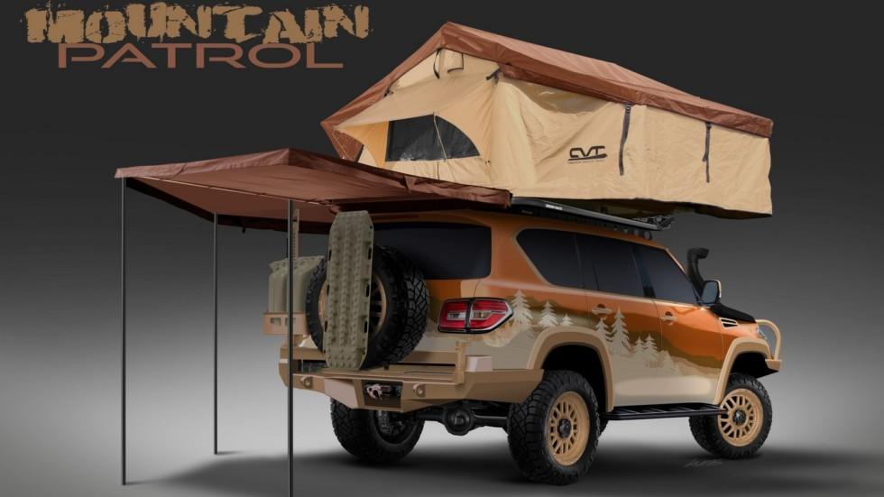 Nissan построил туристический внедорожник 1