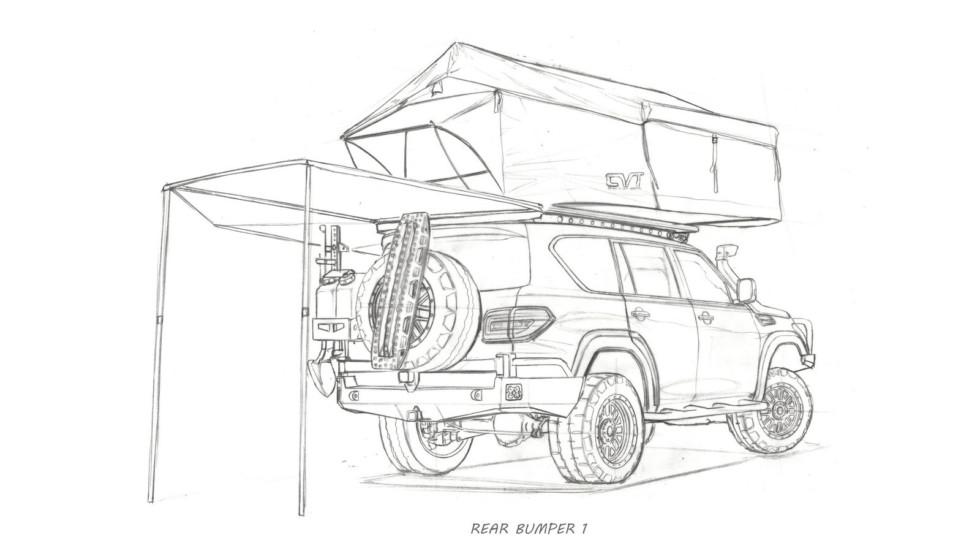 Nissan построил туристический внедорожник 3