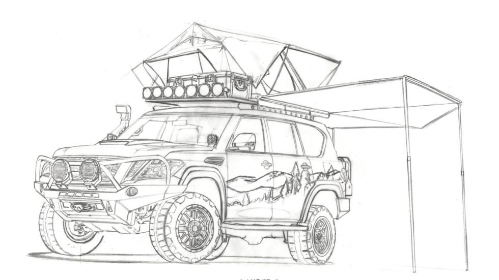 Nissan построил туристический внедорожник 2