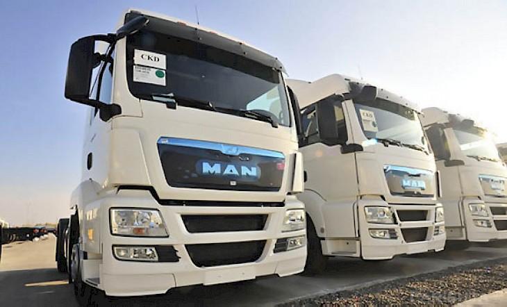 В Казахстане начнут выпускать грузовики MAN 1