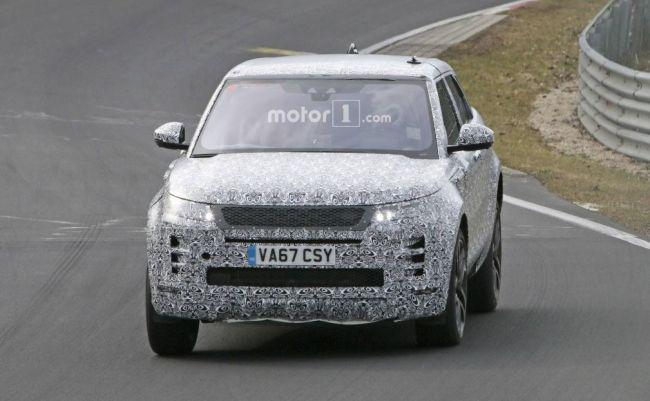 Каким будет обновленный Range Rover Evoque 1